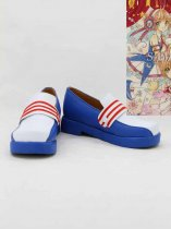 Cardcaptor Sakura Cosplay Sakura Blue & White Cosplay Shoes