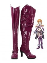 Date A Live Yamai Kaguya Hight Hell Cosplay Boots