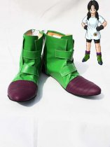 Dragon Ball Cosplay Videl Green Cosplay Boots