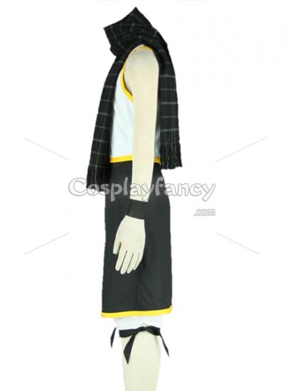 Fairy Tail Cosplay Natsu Dragneel Cosplay Costume 2 - Click Image to Close