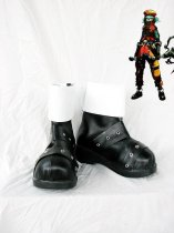 Hack//G.U. Kite Black & White Cosplay Boots
