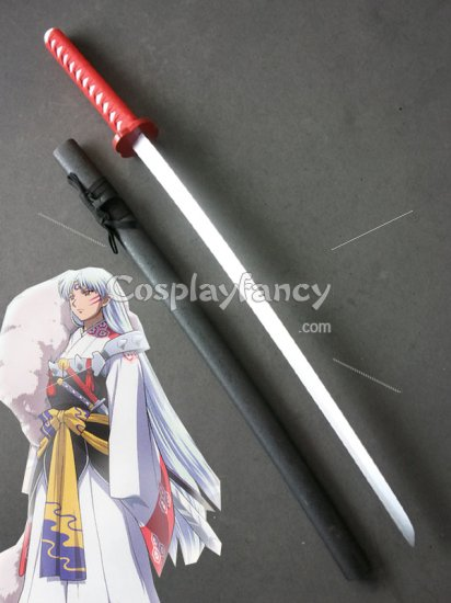 Inuyasha Cosplay Sesshoumaru S Wood Cosplay Sword Tenseiga Iy006