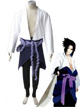 Naruto Cosplay Sasuke Uchiha Teenager 3rd Uniform Cosplay Costume