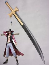 One Piece Mihawk Cosplay Sword Cosplay Weapon