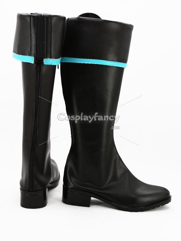 Vocaloid Hatsune Miku Military Uniform Cosplay Boots