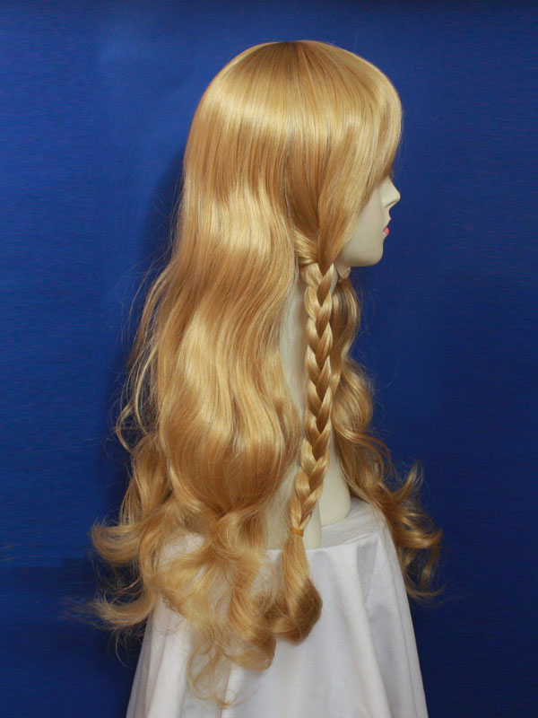 80cm Brown Project Marisa Kirisame Cosplay Wig