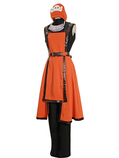 Guilty Gear Jellyfish Air Pirates May Orange Cosplay Costume