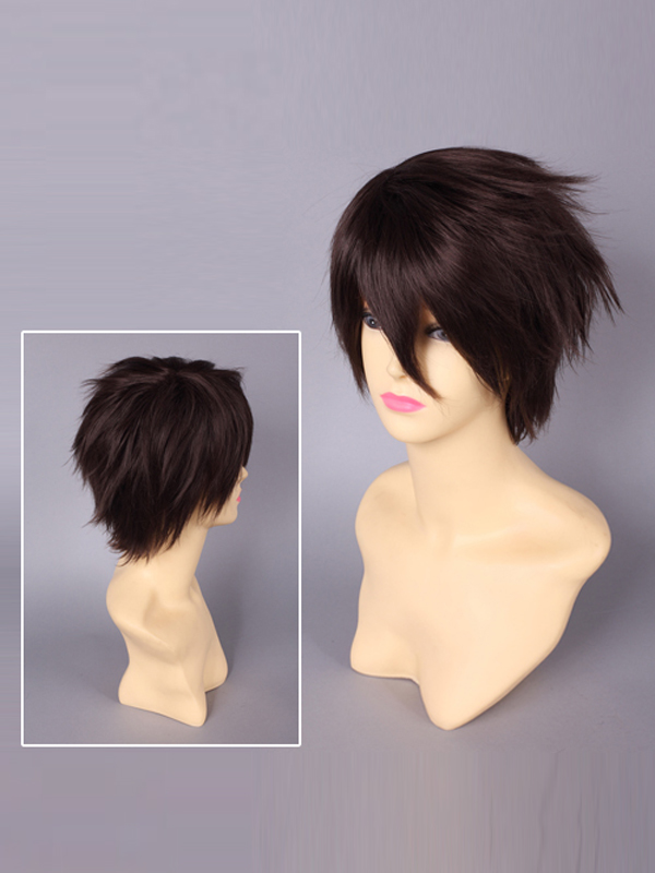 Highschool Of The Dead Takashi Komuro Cosplay Wig