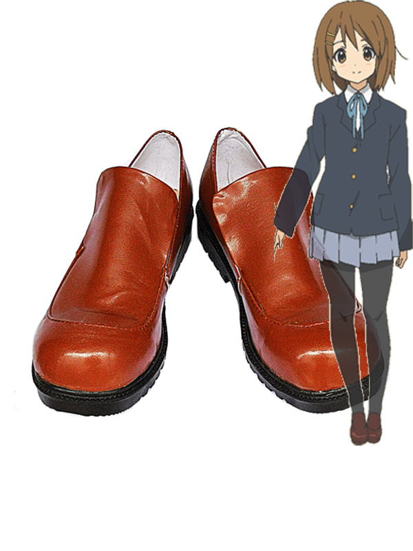 K-ON Cosplay Hirasawa Yui Cosplay Brown Shoes