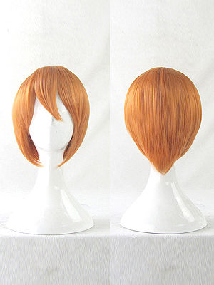 Love Live! Cosplay Rin Hoshizora Short Cosplay Wig
