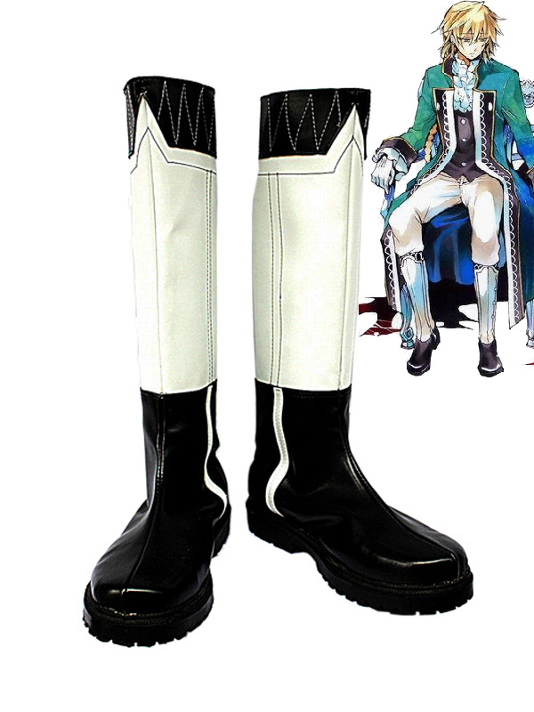 Pandora Hearts Cosplay Shoes Jack Vessalius Buttoned Boots