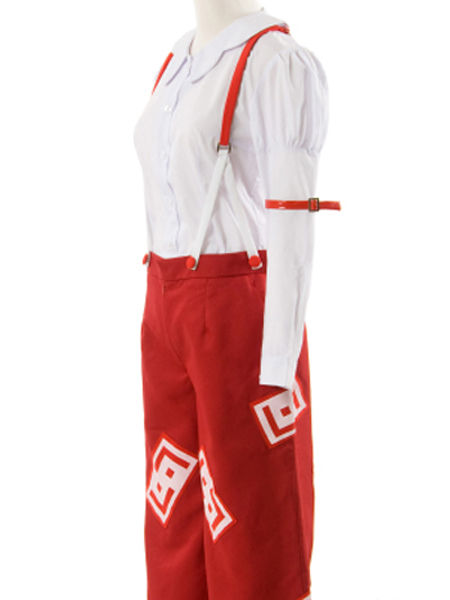 Phantasmagoria Of Dim Dream Fujiwara no Mokou Cosplay Costume