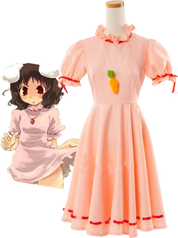 Phantasmagoria Of Dim Dream Tewi Inaba Cosplay Costume