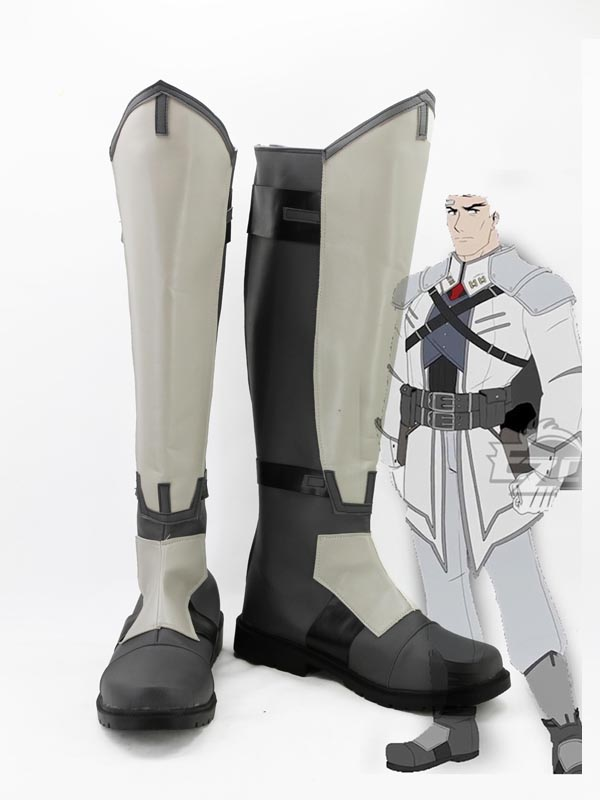 RWBY James Ironwood Cosplay Boots