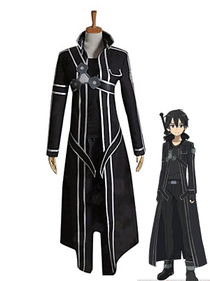 Sword Art Online Cosplay Kirito Coslay Costume