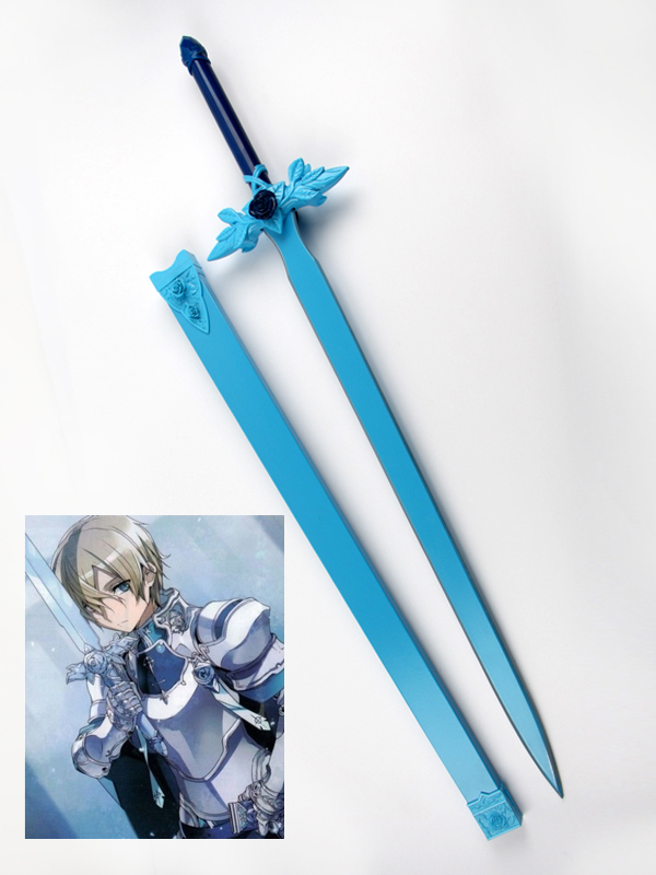 Sword Art Online Project Alicization Eugeo Cosplay Blue Rose Sword