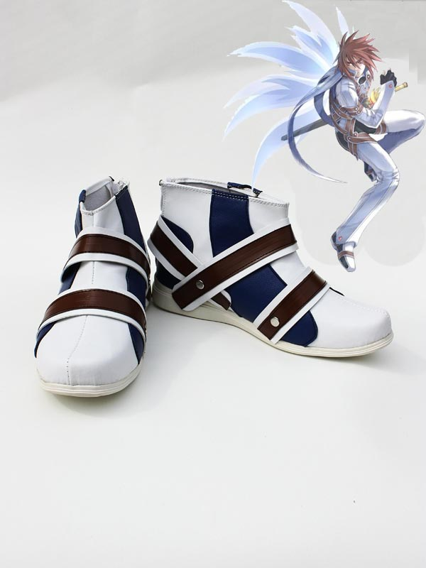 Tales of Symphonia Kratos Aurion Judgement Cosplay Shoes