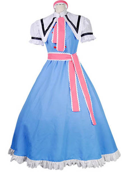 Touhou Project Cosplay Alice Margatroid Cosplay Costume