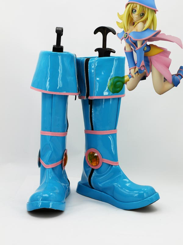 Yu-Gi-Oh! Cosplay Black Magician Girl Cosplay Boots